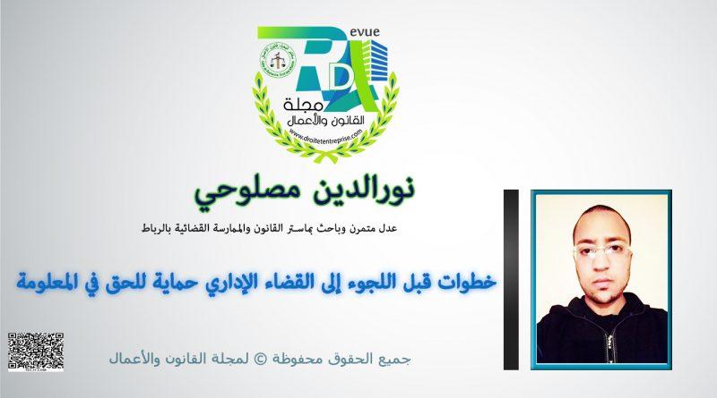 خطوات قبل اللجوء إلى القضاء الإداري حماية للحق في المعلومة